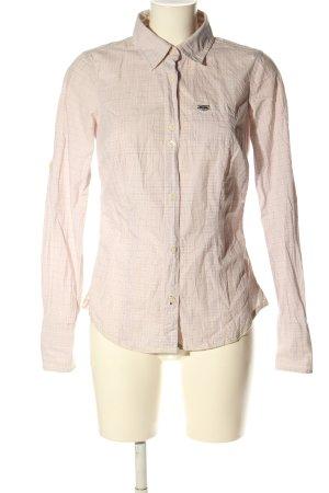 Hilfiger Denim Langarmhemd pink-creme Karomuster Business-Look