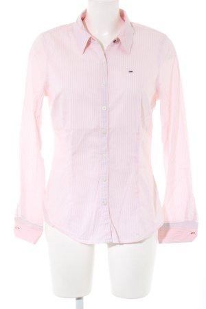 Hilfiger Denim Langarmhemd pink Streifenmuster Business-Look