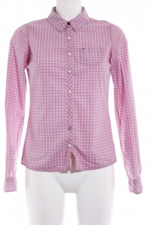 Hilfiger Denim Langarmhemd rosa Karomuster Casual-Look