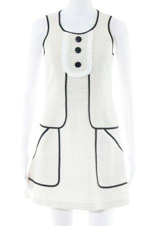 Hilfiger Denim Pinafore Overall Skirt cream-natural white spot pattern