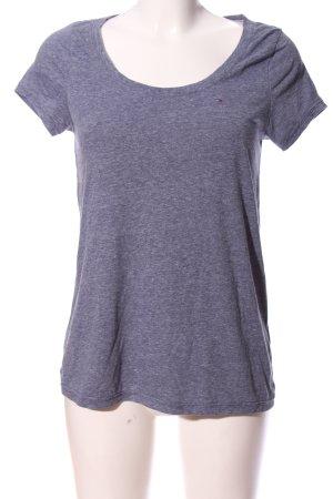 Hilfiger Denim Longshirt blau meliert Casual-Look