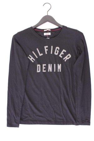 Hilfiger Denim Longsleeve-Shirt Größe M Langarm schwarz