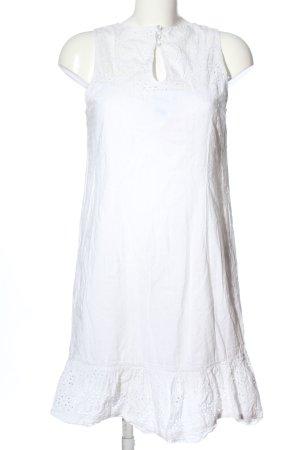 Hilfiger Denim Minikleid weiß Casual-Look