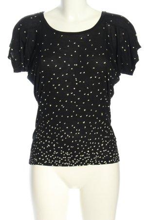 Hilfiger Denim Oversized Shirt schwarz-weiß Casual-Look