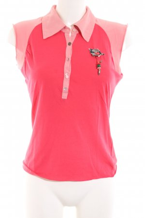 Hilfiger Denim Polo-Shirt pink Casual-Look