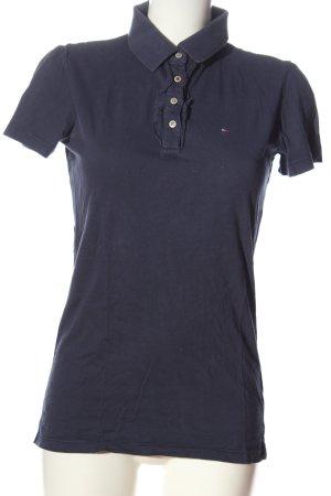 Hilfiger Denim Polo-Shirt blau Casual-Look