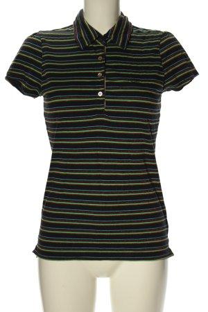 Hilfiger Denim Polo-Shirt Schriftzug gedruckt Casual-Look