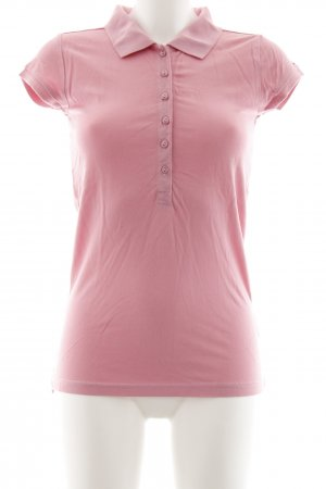 Hilfiger Denim Polo-Shirt rosa Casual-Look
