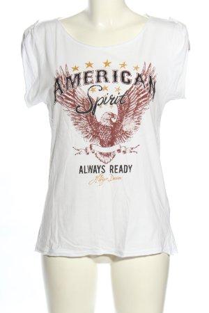 Hilfiger Denim Print-Shirt Motivdruck Casual-Look