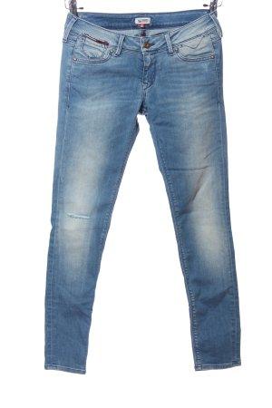 Hilfiger Denim Pantalon cigarette bleu style décontracté