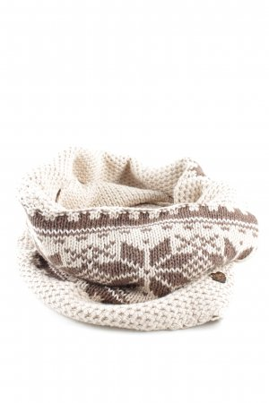 Hilfiger Denim Snood cream-natural white graphic pattern casual look