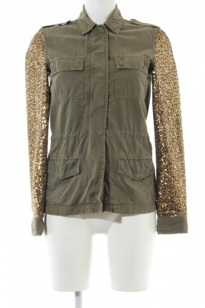 Hilfiger Denim Safari Jacket khaki-gold-colored extravagant style