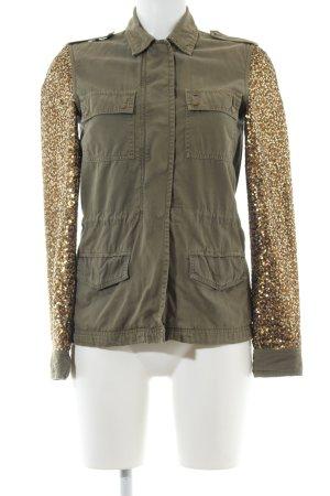 Hilfiger Denim Safarijacke khaki-goldfarben extravaganter Stil