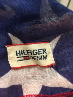 Hilfiger Denim Summer Scarf blue