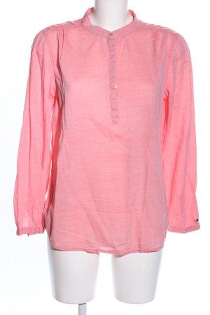 Hilfiger Denim Schlupf-Bluse pink Casual-Look