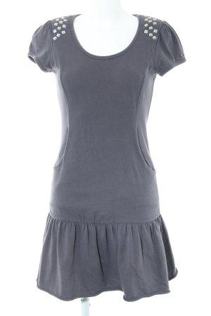 Hilfiger Denim Shirtkleid hellgrau Casual-Look