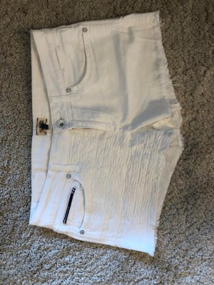 Hilfiger Denim Short moulant blanc coton