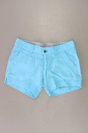 Hilfiger Denim Shorts Größe W28 türkis aus Leinen