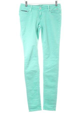Hilfiger Denim Skinny Jeans türkis Casual-Look