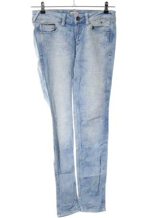 Hilfiger Denim Skinny Jeans blau-weiß Casual-Look