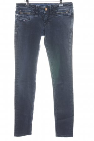 Hilfiger Denim Skinny Jeans blau-dunkelblau Street-Fashion-Look