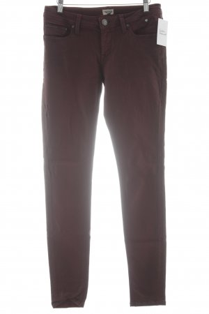 Hilfiger Denim Skinny Jeans bordeauxrot Casual-Look