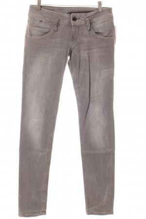 Hilfiger Denim Skinny Jeans grau Used-Optik