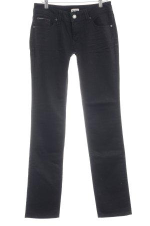 Hilfiger Denim Skinny Jeans schwarz schlichter Stil