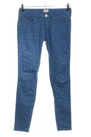 Hilfiger Denim Slim Jeans blau Allover-Druck Casual-Look