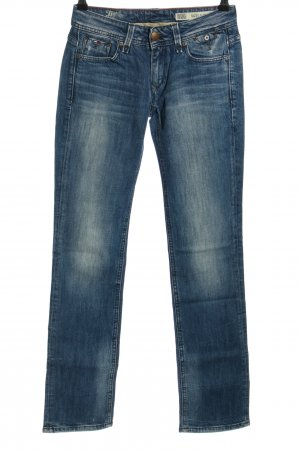 Hilfiger Denim Dopasowane jeansy niebieski W stylu casual