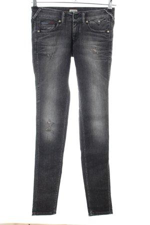 Hilfiger Denim Jeans slim noir style décontracté