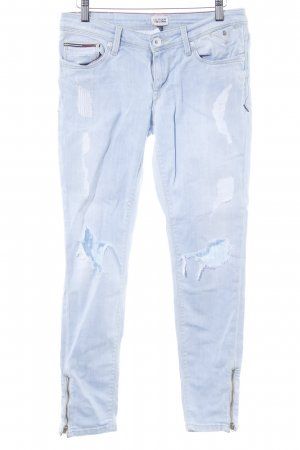 Hilfiger Denim Slim Jeans himmelblau Casual-Look