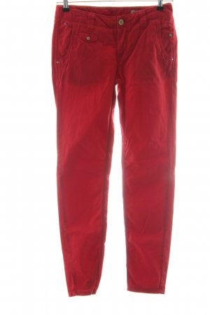 Hilfiger Denim Stoffhose rot Casual-Look