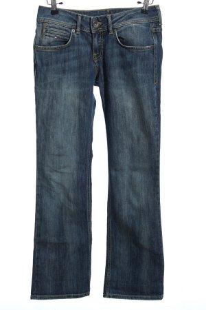 Hilfiger Denim Jeans a gamba dritta blu stile casual