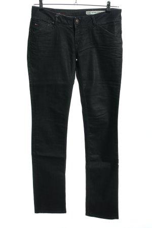 Hilfiger Denim Straight-Leg Jeans schwarz Casual-Look