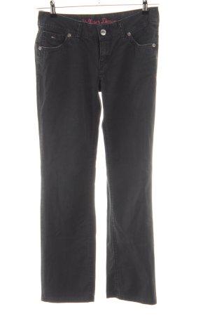 Hilfiger Denim Stretch Jeans schwarz Casual-Look