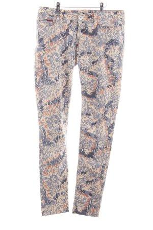 Hilfiger Denim Stretch broek abstract patroon casual uitstraling