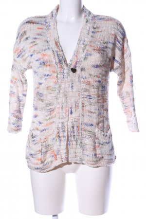 Hilfiger Denim Strick Cardigan abstraktes Muster Casual-Look