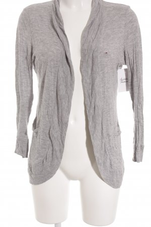 Hilfiger Denim Strick Cardigan silberfarben Casual-Look