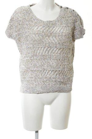 Hilfiger Denim Camicia maglia bianco sporco puntinato stile casual