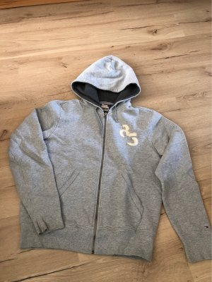 Tommy Hilfiger Chaqueta con capucha gris claro-gris