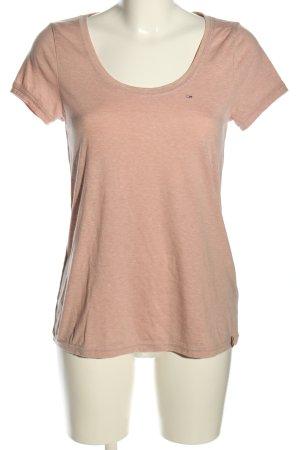 Hilfiger Denim T-Shirt pink meliert Casual-Look