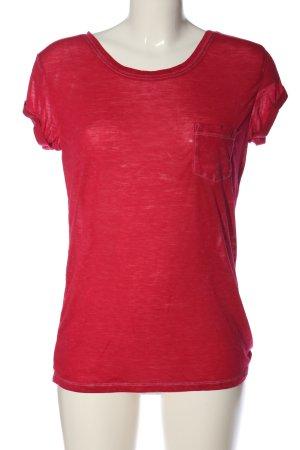Hilfiger Denim T-Shirt rot Casual-Look