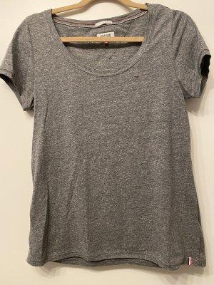 Hilfiger Denim Camiseta gris-gris oscuro