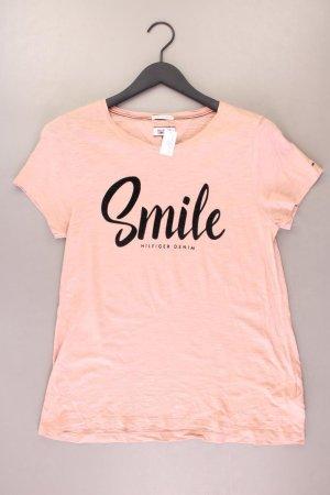 Hilfiger Denim T-Shirt Größe M Kurzarm rosa aus Baumwolle