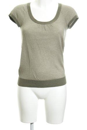 Hilfiger Denim Camiseta caqui-camel Patrón de tejido look casual