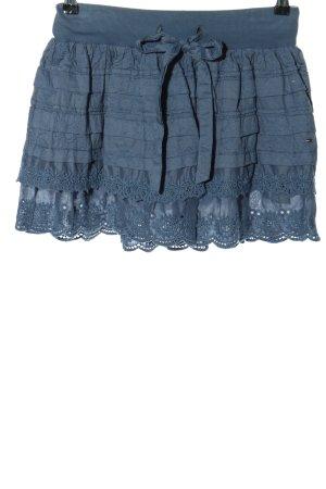 Hilfiger Denim Tellerrock blau Casual-Look