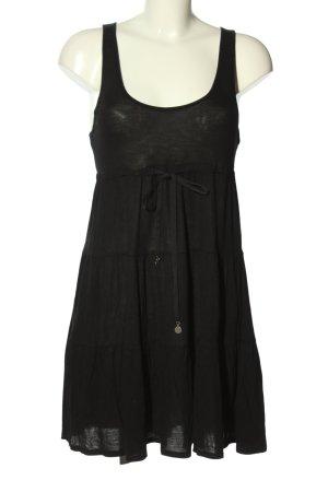 Hilfiger Denim A-Linien Kleid schwarz Casual-Look
