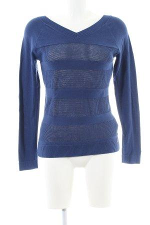 Hilfiger Denim V-Neck Sweater blue cotton