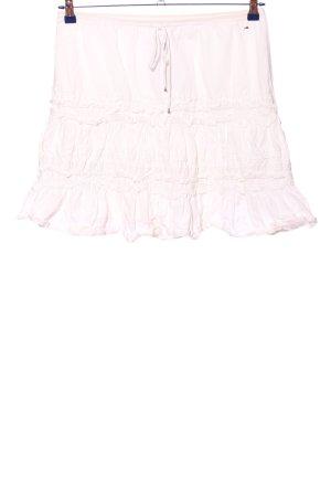 Hilfiger Denim Spódnica z falbanami w kolorze białej wełny W stylu casual